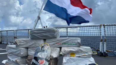 Photo of Zr.Ms.Groningen onderschept drugstransport