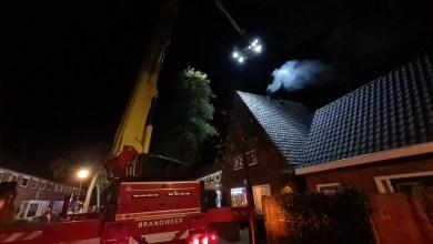 Photo of Brandweer in actie voor schoorsteenbrand