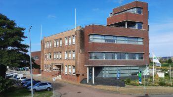 De voormalige Zeevaartschool, nu in gebruik als onderzoekscentrum