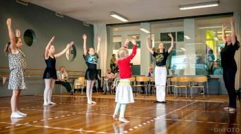 Ballet en iedereen mocht gewoon meedoen (DHfoto)