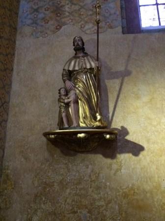 Saint-Roch, bois doré XVIIIè