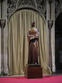 Notre Dame d'Hautecombe en chêne (E. Delvaux, 1954)