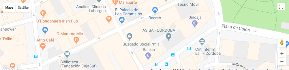 mapa registro civil cordoba