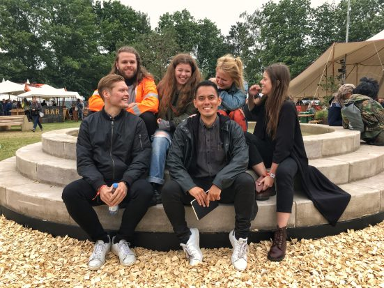 Mammút Regnsky Roskilde Festival