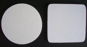 Blank Gray Coasters