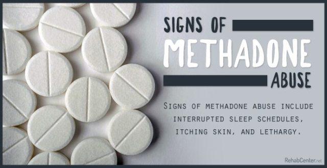 Signs Of Methadone Abuse
