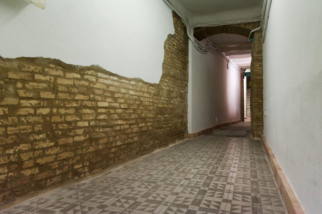 Reforma patio de entrada