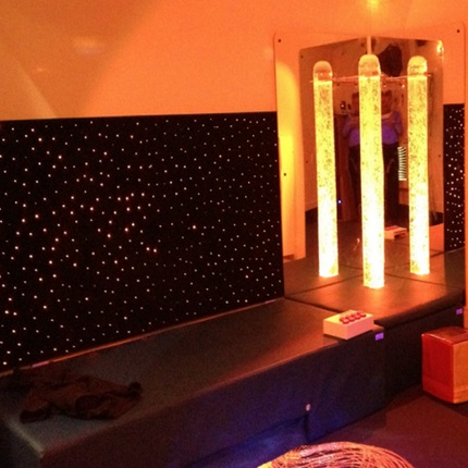 Wall Mounted Color Changing Led Fiber Optic Carpet Panel