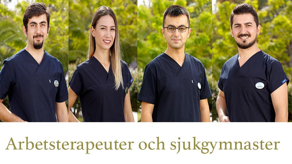 arbetstrapeuter och sjukgymnaster rehabresor turkiet
