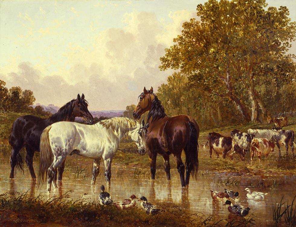 John Frederick Herring, Jr. c.1820-1907