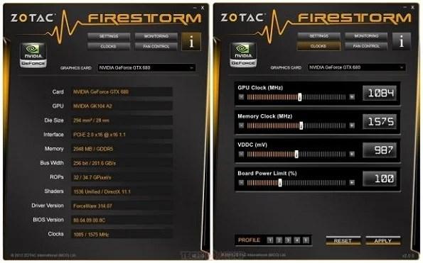 Zotac presenta FireStorm 2.0: utility per l'OC delle schede video Nvidia