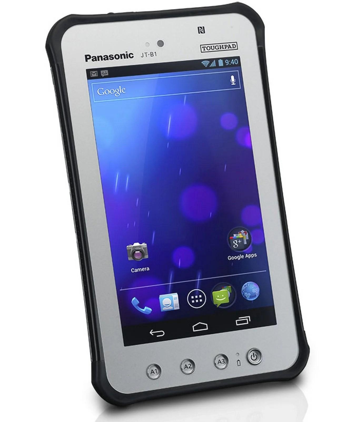 Panasonic JT B1: Un tablet che fa il lavoro duro