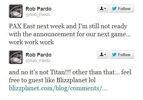 Un nuovo gioco Blizzard al PAX East
