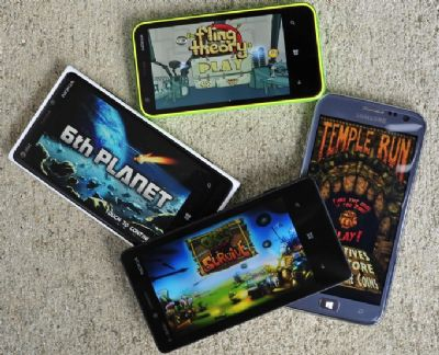 Windows Phone avrà Temple Run e Ruzzle