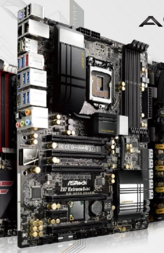 ASRock Z87 Extreme9/ac: prima scheda madre certificata Thunderbolt al mondo