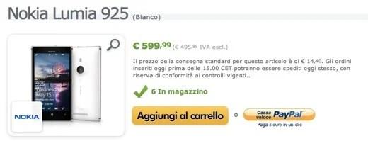Expansys inizia la vendita del Lumia 925