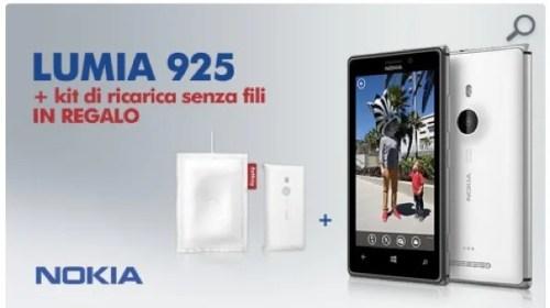 Nokia Lumia 925: 599€ con ricarica Wireless e cuscino FatBoy su Expansys