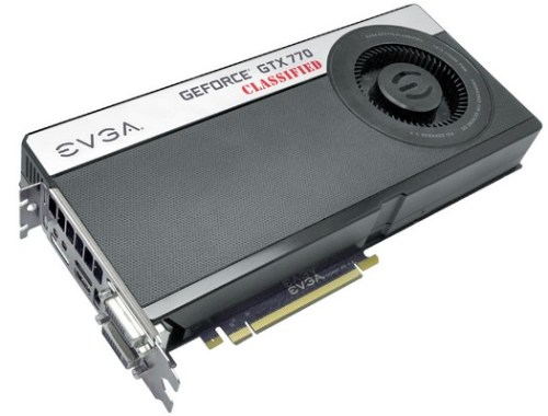 EVGA ha annunciato la GeForce GTX 770 Classified