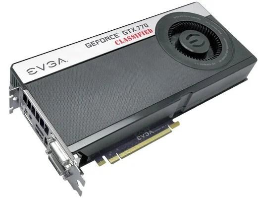 EVGA ha annunciato la GeForce GTX 770 Classified