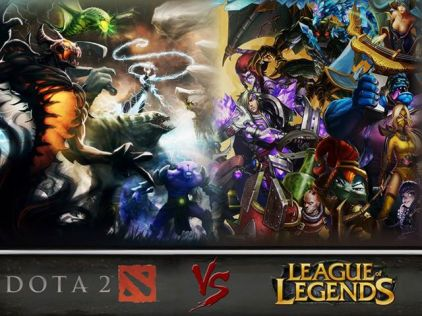 League of Legends vs DOTA2