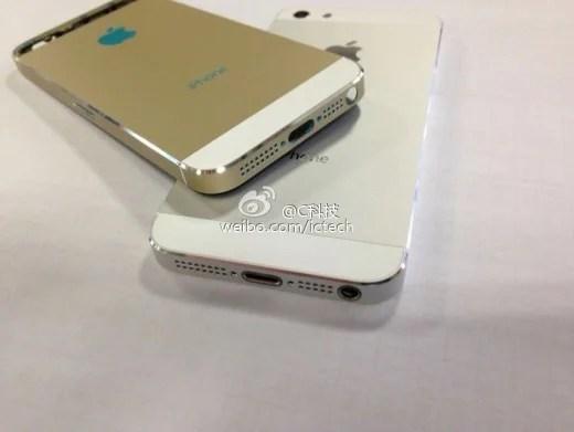 """Appare in rete la nuova colorazione """"ORO"""" per iPhone 5S"""
