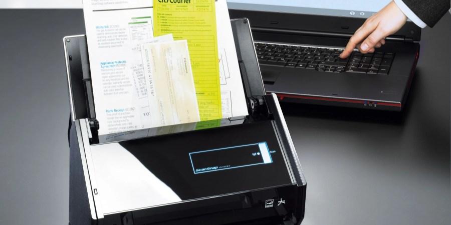 Addio cavo! ScanSnap iX500 si collega al computer via Wi-Fi