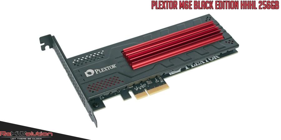 Plextor M6e Black Edition SSD 256 GB   Recensione