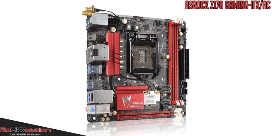 ASRock Z170 Gaming-ITX/ac | Recensione
