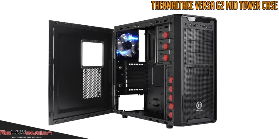 Thermaltake Versa G2 Mid Tower Case | Recensione