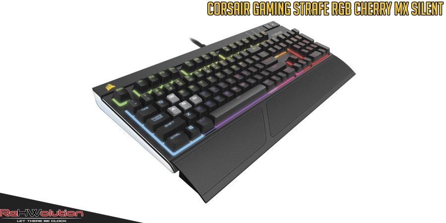 Corsair Gaming Strafe RGB Mechanical Keyboard Cherry MX Silent | Recensione