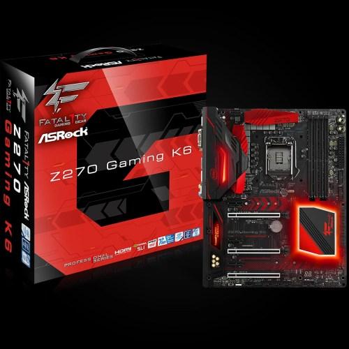 ASRock Fatal1ty Z270 Gaming K6 e Kaby Lake i5 7600k