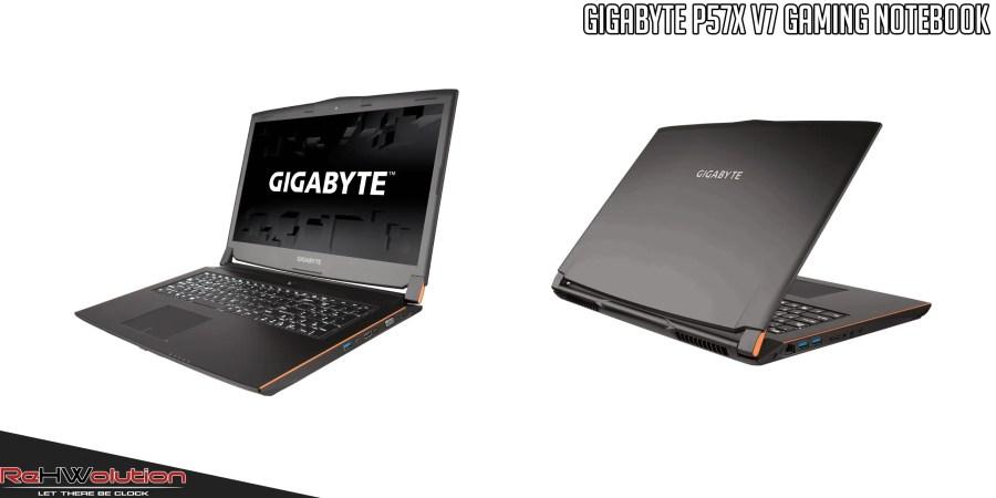 Gigabyte P57X V7 Gaming Notebook