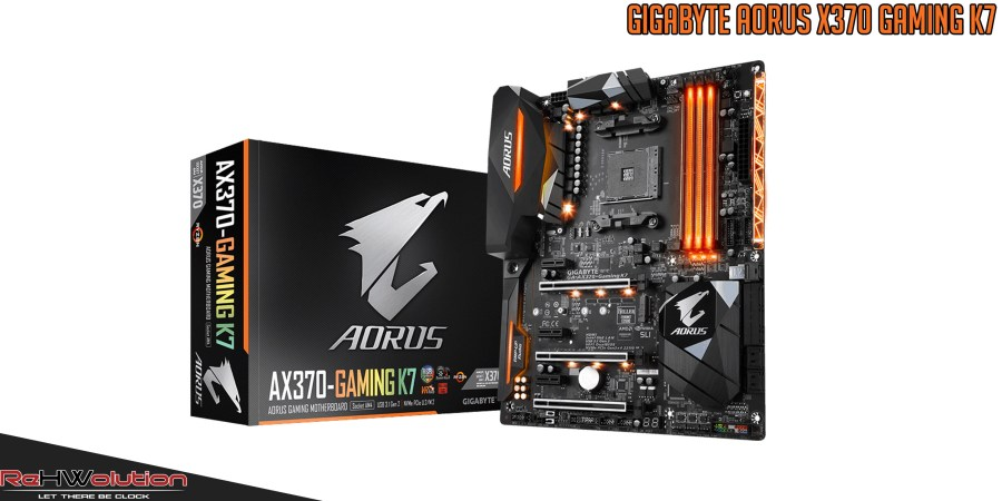 Gigabyte AORUS X370-Gaming K7 AM4 Mainboard
