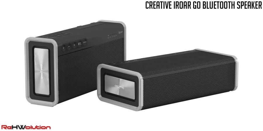 Creative iRoar Go Bluetooth Speaker