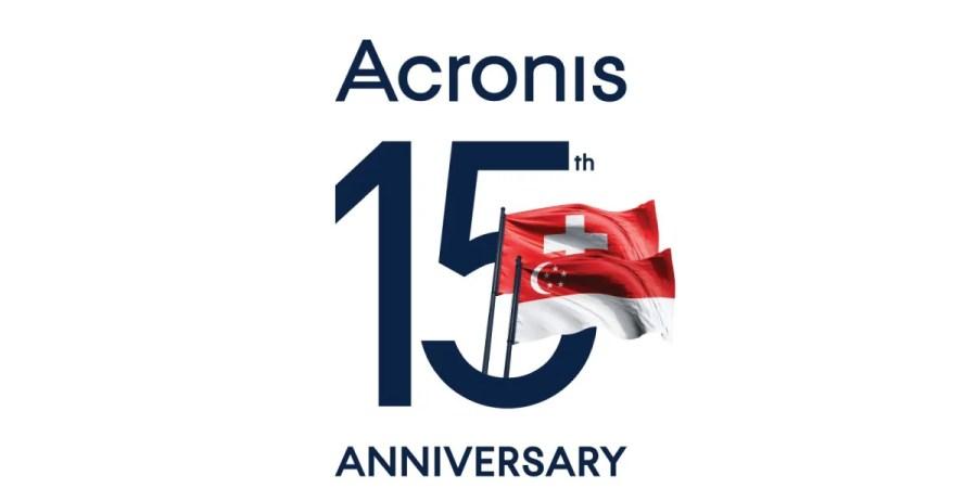 Acronis festeggia il 15° anno di attività premiando i propri partner