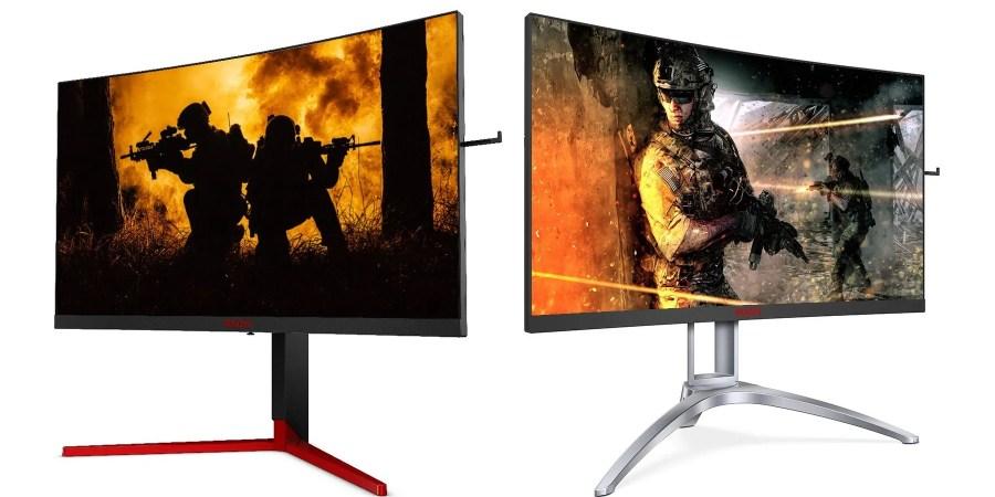 AOC presenta AGON3, monitor curvi super veloci per il gaming