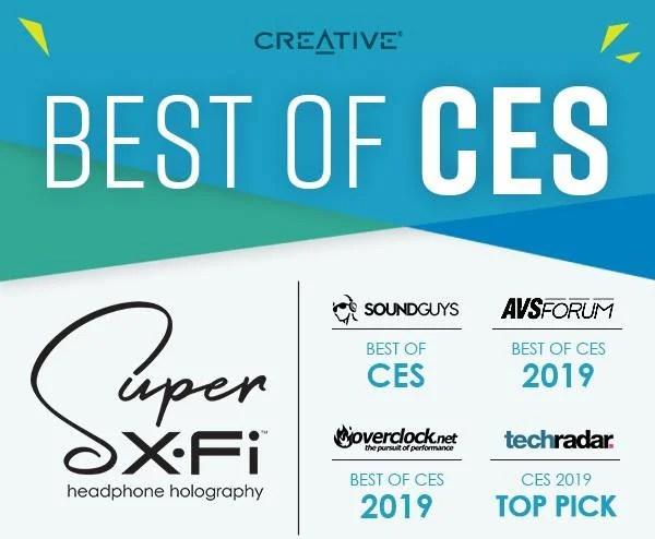 Super X Fi di Creative debutta sul mercato dopo il successo al CES 2019