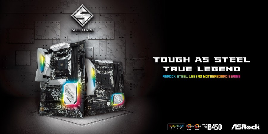 Be a True Legend with the tough as steel ASRock Steel Legend Motherboards