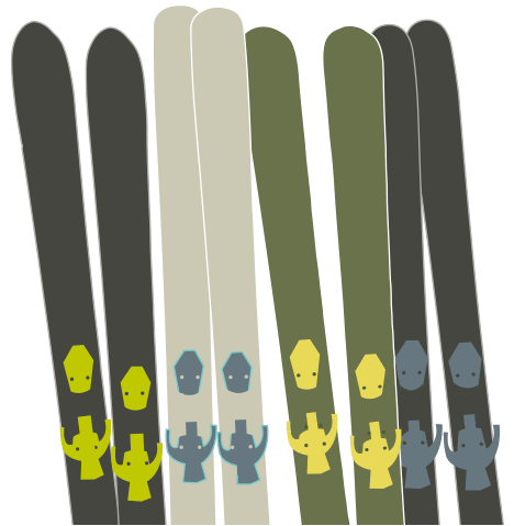 Liberty Evolv100 Skis - A Versatile, All Terrain Ski 3