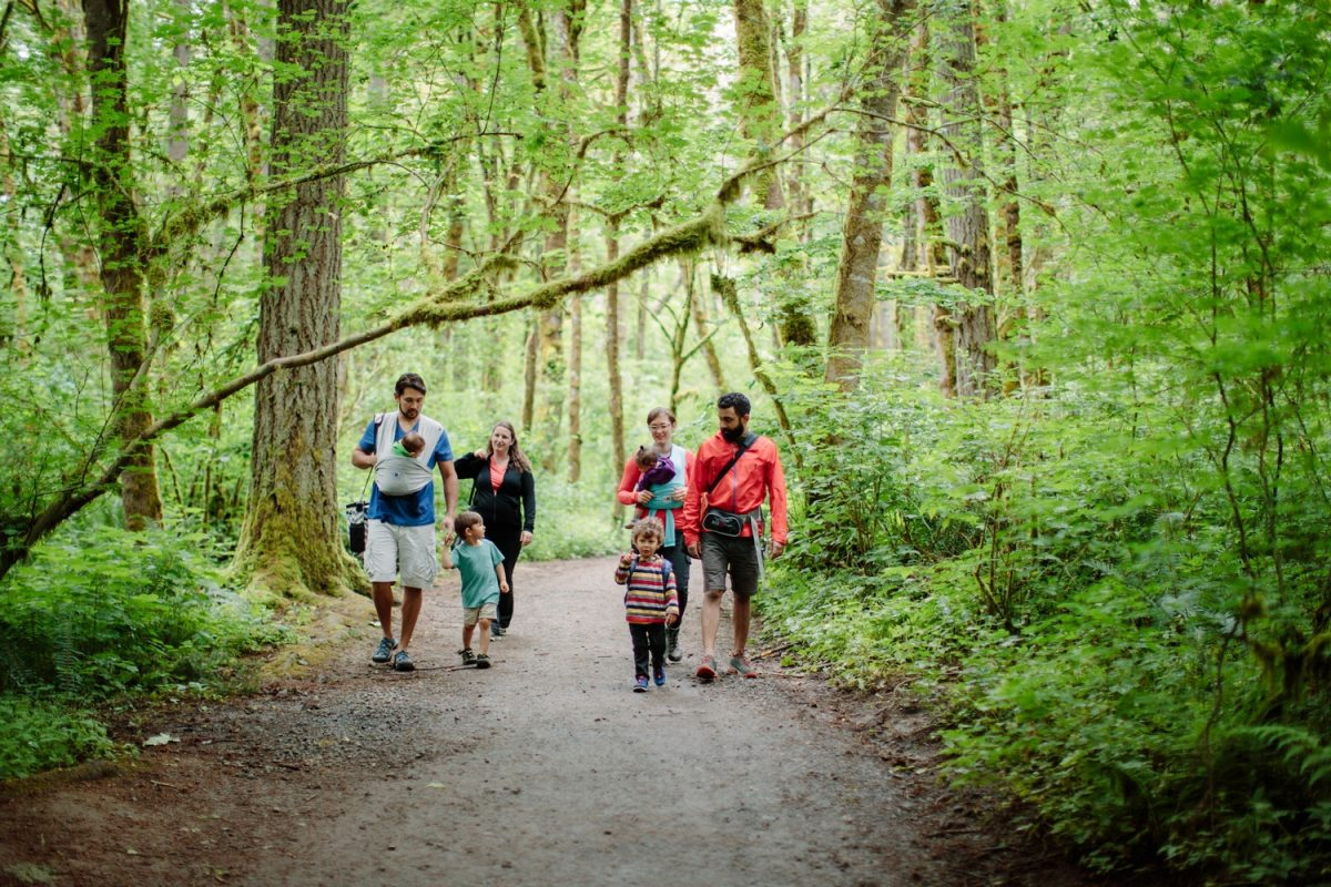 Assess your situation ahead of time to make your hike enjoyable for the whole family.
