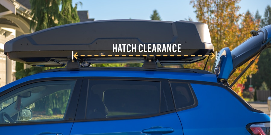 how to choose the right size cargo box