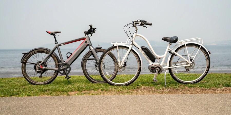 Types of bikes: e-bikes