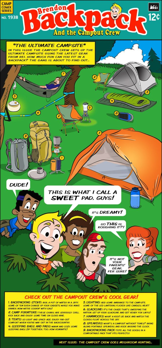 The Ultimate Campsite