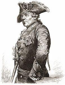 The sketch of Friedrich der Große, by Adolph Menzel