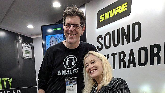 Tom Gordon Analog tee NAMM 2019