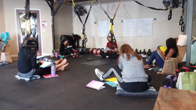 Pilates Instructor Public Speaking & Confidence Workshop at P2O Hot Pilates in Sacramento, CA - Oct 14, 2017