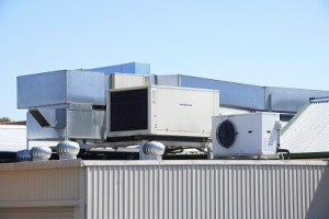 Commercial roof top HVAC units