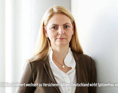 Ana-Cristina Grohnert zieht weiter …