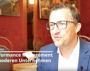 Marcus K. Reif spricht über Performance-Management in modernen Unternehmen