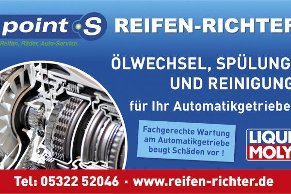Ölwechsel, Spülung und Reinigung für Ihr Automatikgetriebe!